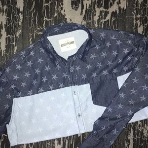 Dutch Plains Long Sleeve Button Down Shirt